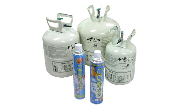 ヘリウムガス バルーンタイム