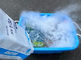 ドライアイス 使い方 静岡 ドブ漬け BBQ キャンプ イベント 秒で冷える