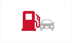 ガソリンスタンド併設